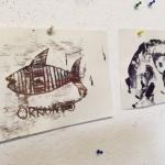 <b> Künstlerisch-kreativ: Bericht aus der Druckwerkstatt <b/>