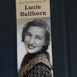 6c übernimmt Patenschaft für den Stolperstein für Lucy Ballhorn